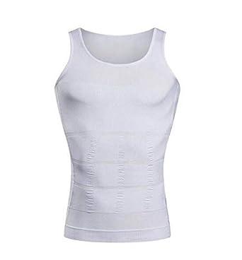 d9bf65ba7e2 Slimming Body Shaper Vest Body Tank Tummy Belly Waist Girdle Shirt Shapewear  Slim N Lift Men