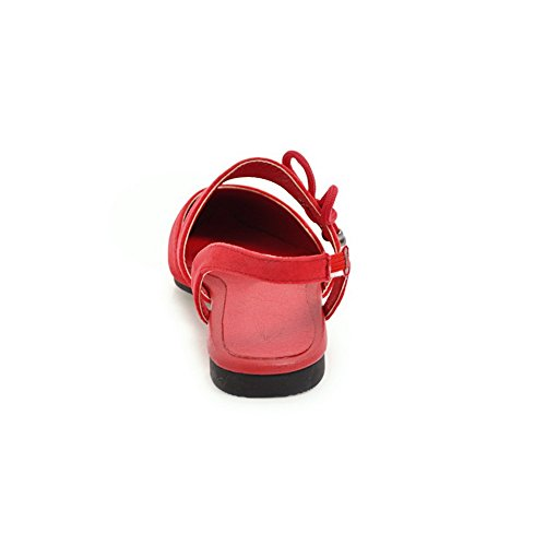 Water ASL04712 Sandals Damen Huarache Toe Sandalen Kein Closed BalaMasa Rot Verschluss Resistant Not S0vPxTTqw