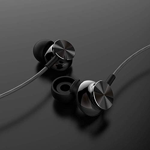 New Arrival Earbuds,ErnestWoolomd Noise Isolating in-Ear Headphones,Powerful Bass,Microphone and 3.5mm Jack Compatible with Samsung Android Phone and More  fxal2Xz