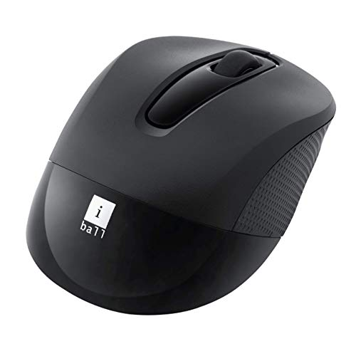 iBall Freego G100 Premium Wireless Optical Mouse for Windows and Mac (Black)