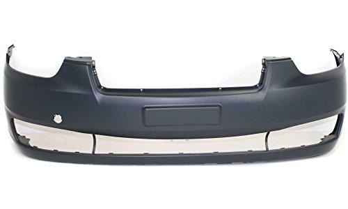 hyundai accent front bumper cover - 5