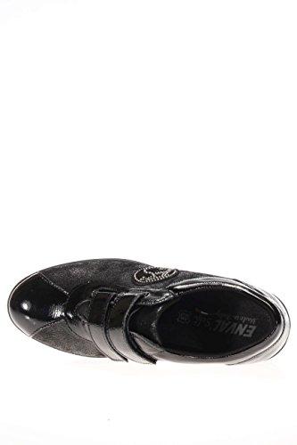 nero Con Fondo 16986 Zeppa allacciato Nero Velcro 37 Ro D OqxCIn8I
