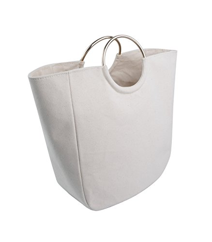 Handcrafted Golden Tote Bag - Classic Canvas Minimalist Handbag - Made in USA. Family owned & operated.
