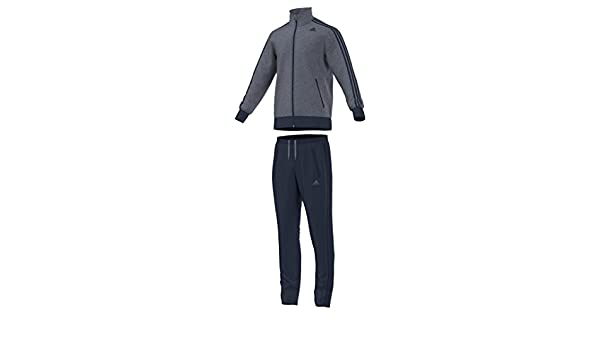 adidas TS Interlock - Chándal para Hombre, Color Azul Marino ...