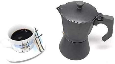 Space Home - Cafetera Espresso en Aluminio - Estilo Italiano - 9 ...