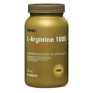 GNC Arginine 1000 90 Comprimés