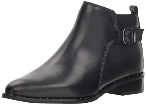 Blondo Women's Tami Ankle Boot, Black Leather, 7 M US