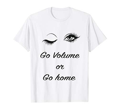 - Womens Eyelashes T Shirt Lashes Girl Artist Tee