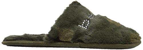 Charee Army bebe Women's Green Slipper znSAx