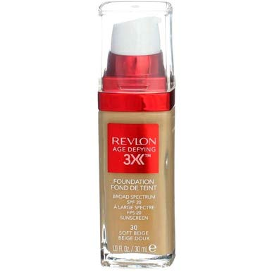 Revlon Age Defying Firming & Lifting Makeup, Soft Beige - Pack of 2