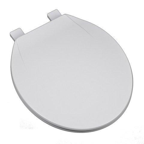 Bath Décor 2F1R4-00 Deluxe Plastic Top Mount Round Toilet...