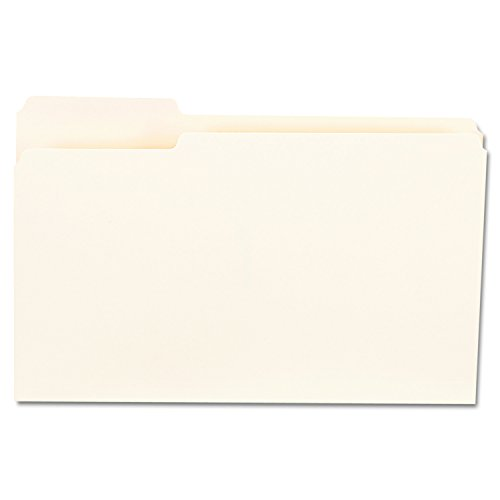 1st Position Manila File Folders (Universal 15121 File Folders, 1/3 Cut First Positions, One-Ply Top Tab, Legal, Manila (Box of 100))