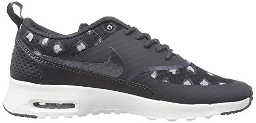 Grey Air Max NIKE black Sneaker white Thea 4CwIIq