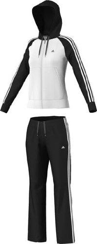 bda45df75546a adidas Damen Trainingsanzug Young Knit XX-Small - White - Black: Amazon.de:  Bekleidung