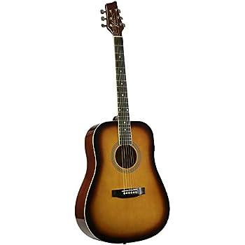 kona guitars k41tsb k41 series acoustic dreadnought guitar with ebonized hardwood. Black Bedroom Furniture Sets. Home Design Ideas