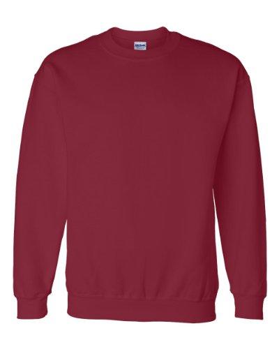Gildan Mens 9.3 oz. DryBlend? 50/50 Fleece Crew (G120) -CARDINAL RED -XL