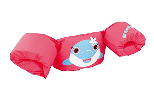 Sevylor Arm Bands Puddle Jumper Dolphin, Pink Toddler swimming aids, float...