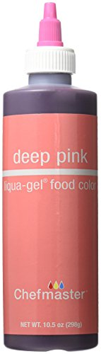 Chefmaster Liqua-Gel Food Color, 10.5-Ounce, Deep Pink by Chefmaster