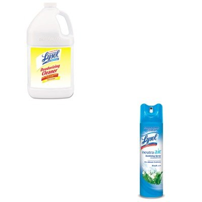 KITRAC76334CTRAC76938EA - Value Kit - Professional LYSOL Disinfectant Deodorizing Cleaner (RAC76334CT) and Neutra Air Fresh Scent (RAC76938EA)