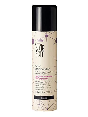STYLE EDIT Black Root Concealer Temporary Touch