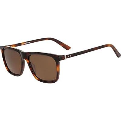 Calvin Klein Collection Mens Lightweight UV Protection Wayfarer Sunglasses