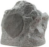 Niles RS6 Pro Weatherproof Rock Loudspeaker (Speckled Granite) (Niles Indoor Outdoor Speakers)