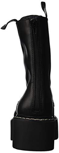 Woman's Windsor Nera 5 Pelle US Lennox EU 36 in Black Smith Anfibio 55wOrHq
