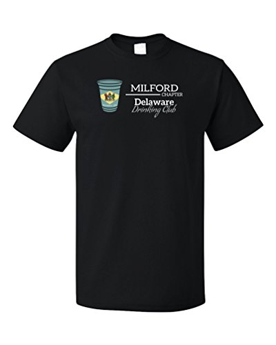 Delaware Drinking Club, Milford Chapter | Funny DE T-shirt