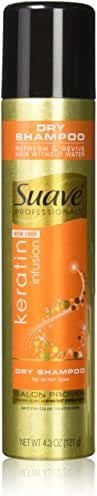 Suave Professionals Dry Shampoo, Keratin Infusion 4.3 ounce
