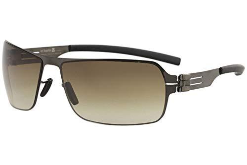 Sunglasses Ic!Berlin Jesse gun metal brown sand 100% Authentic ()
