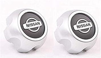 Y&F Boutique shops Juego de 2 tapacubos centrales para Nissan Xterra Frontier 2000 – 2004 (