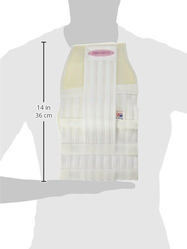 GABRIALLA Breathable Maternity/Back Support Belt For Multiples MS-99: White Medium by GABRIALLA (Image #8)