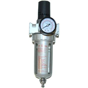 TCP Global Brand Professional Air Filter and Regulator Control Unit with Gauge (1/4'' NPT) by TCP Global