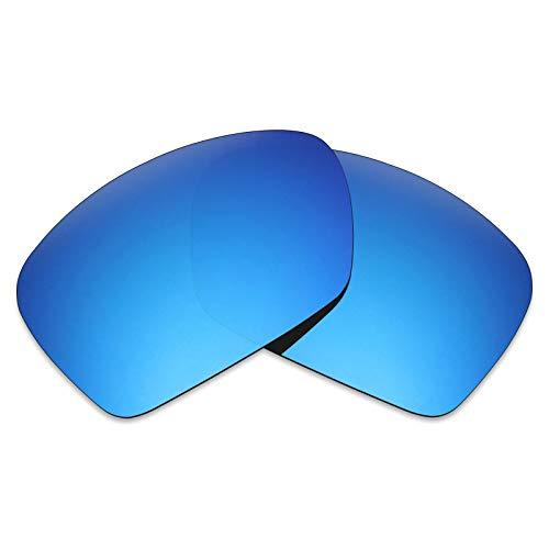 Mryok Polarized Replacement Lenses for Oakley Plaintiff Squared - Ice ()