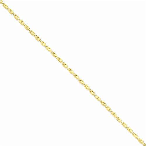 Jewelry Adviser Bracelets 14k 3.5mm Marquise Chain Length - Marquise Bracelet 14k