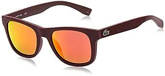 LACOSTE Unisex's L790S 603 52 Sunglasses, Matte Burgundy