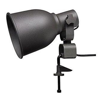 Ikea Hektar Clamp Lamp Wall Spotlight (Black) (Outdoor Lighting Ikea)