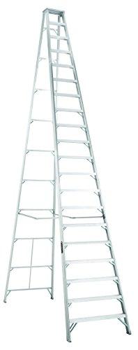 Aluminum Duty Step - Louisville Ladder AS1020 300-Pound Duty Rating Aluminum Stepladder, 20-Foot