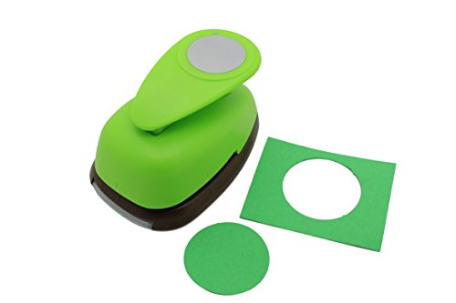 Bira 2'' inch Circle Lever Action Craft Punch for Paper Crafting Scrapbooking Cards Arts (2-inch Circle) by Bira Craft