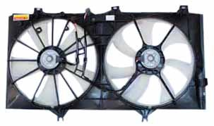 TYC 621300 Toyota Replacement Radiator/Condenser Cooling Fan Assembly