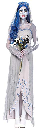 ugoccam Women Cosplay Corpse Wedding Dress Womens Large