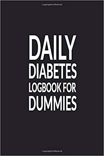 Daily Diabetes Logbook For Dummies 2 Year Planner Blood Sugar