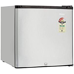 Haier 52 L 3 Star Direct Cool Single Door Refrigerator(HR-62VS, Silver)