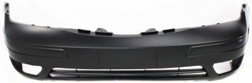 Crash Parts Plus Primed Front Bumper Cover Replacement for 2005-2007 Ford Focus ()