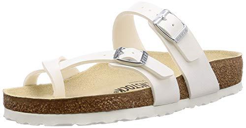 Birkenstock Womens Mayari Slide Sandal, White, 38 M -