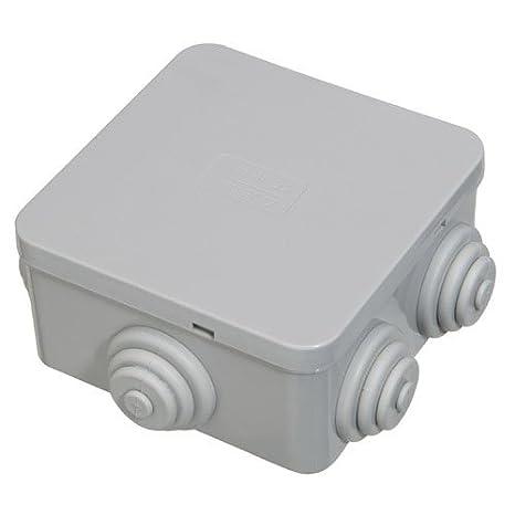 Caja Estanca Superficie Con Clip 80x80x40 mm.: Amazon.es: Industria, empresas y ciencia