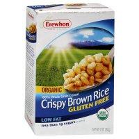 Erewhon Crispy Brown Rice Cereal, Organic, Low Fat, 10 oz, (pack of 3)