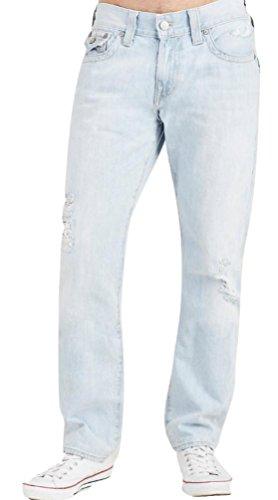 True Religion New Men's Vintage Indigo Geno w/ Flap Jeans ME08NWV6 DCDL Worn Indigo 32