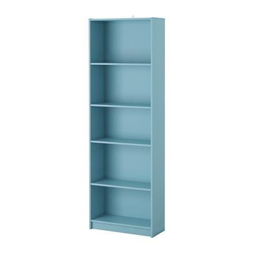 ikea-bookcase-5-shelves-light-turquoise