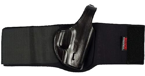(Bianchi 150L Negotiator Size 1 Ankle Holster Fits S&W J Frame 2 (Right Hand) with Extra Long Ankle Strap)